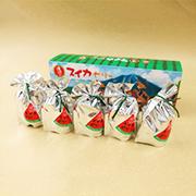 「滝沢市のスイカゼリー(5個セット)」の商品イメージ